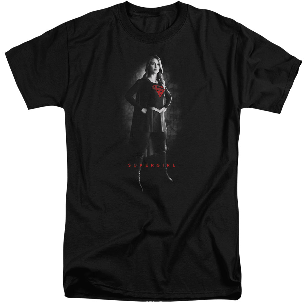Supergirl - Supergirl Noir Short Sleeve Adult Tall