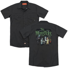 The Munsters - 1313 50 Years(Back Print) Adult Work Shirt