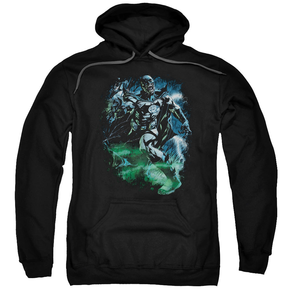 Green Lantern - Black Lantern Batman Adult Pull Over Hoodie
