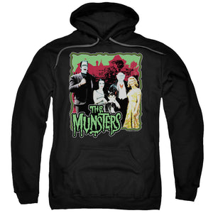The Munsters - Normal Family Adult Pull Over Hoodie