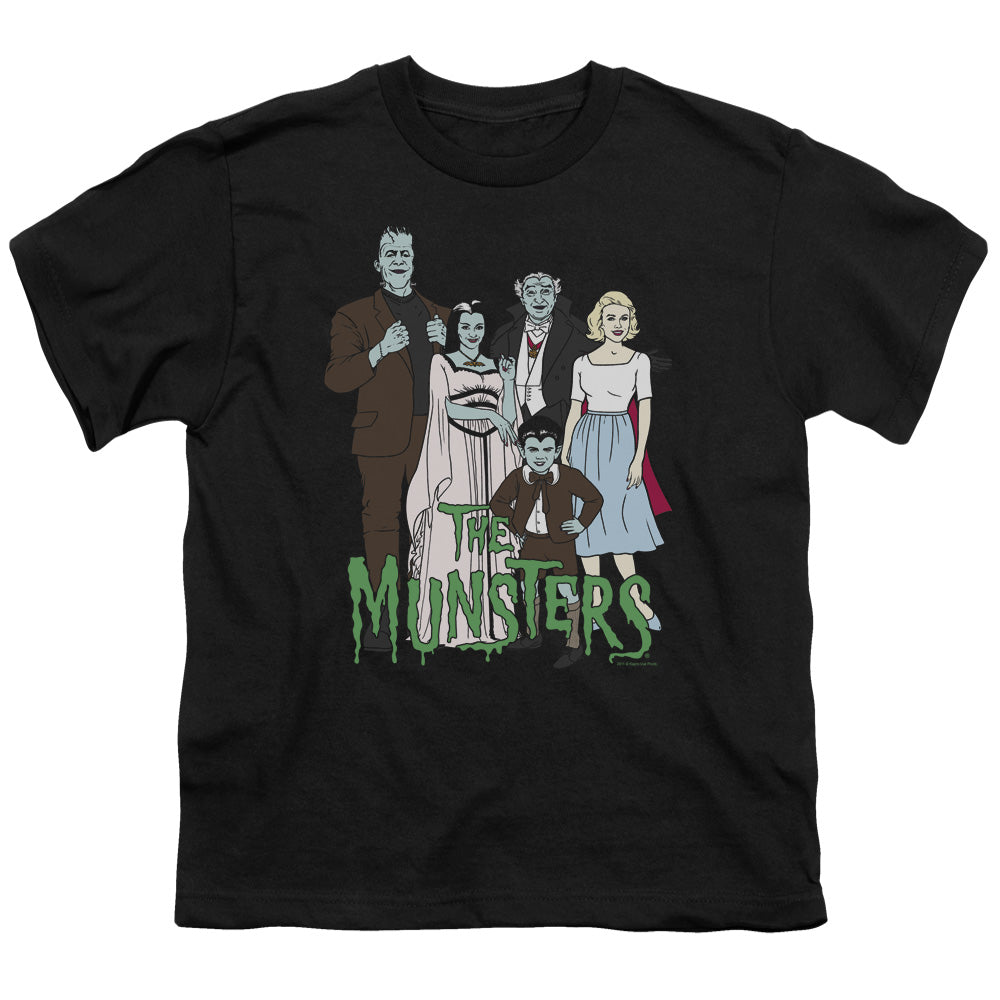 The Munsters - The Family Short Sleeve Youth 18/1