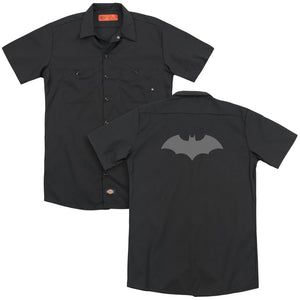 Batman - 52 Black(Back Print) Adult Work Shirt