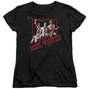 Batman - Gotham's Most Wanted Short Sleeve Women's Tee