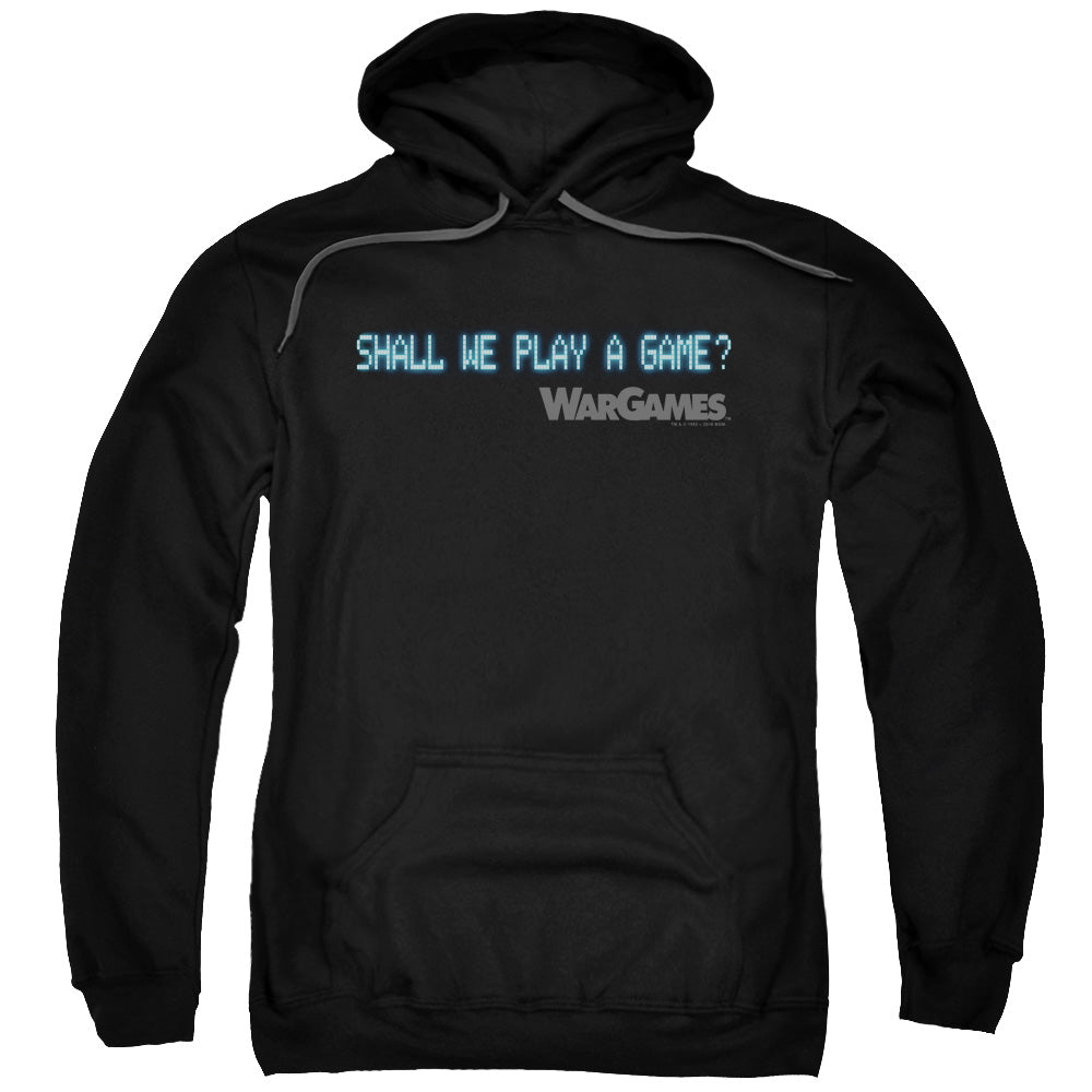 Wargames - Shall We Adult Pull Over Hoodie