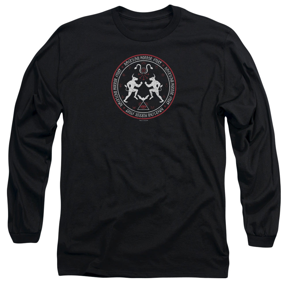 American Horror Story - Coven Minotaur Sigil Long Sleeve Adult 18/1