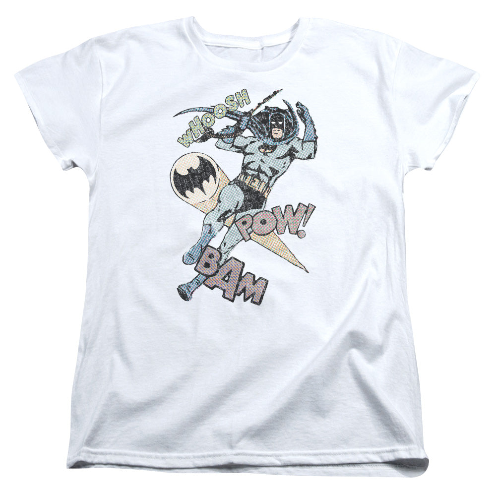 Batman - Halftone Swing Short Sleeve Women's Tee