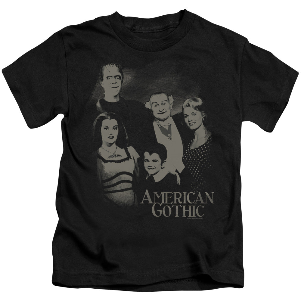 The Munsters - American Gothic Short Sleeve Juvenile 18/1