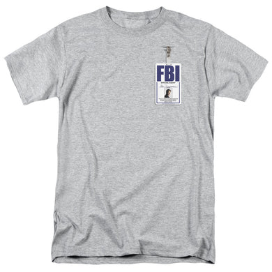 X Files - Mulder Badge Short Sleeve Adult 18/1