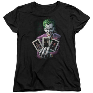 Batman - 3 Of A Kind Short Sleeve Women's Tee