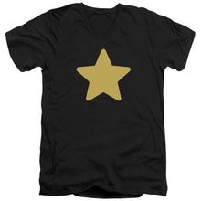 Steven Universe - Greg Star Short Sleeve Adult V Neck