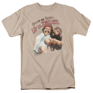 Cheech And Chong - Rolled Up Short Sleeve Adult 18/1