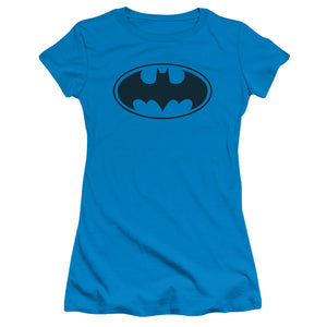 Batman - Black Bat Short Sleeve Junior Sheer