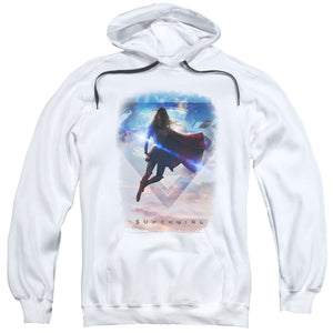 Supergirl - Endless Sky Adult Pull Over Hoodie