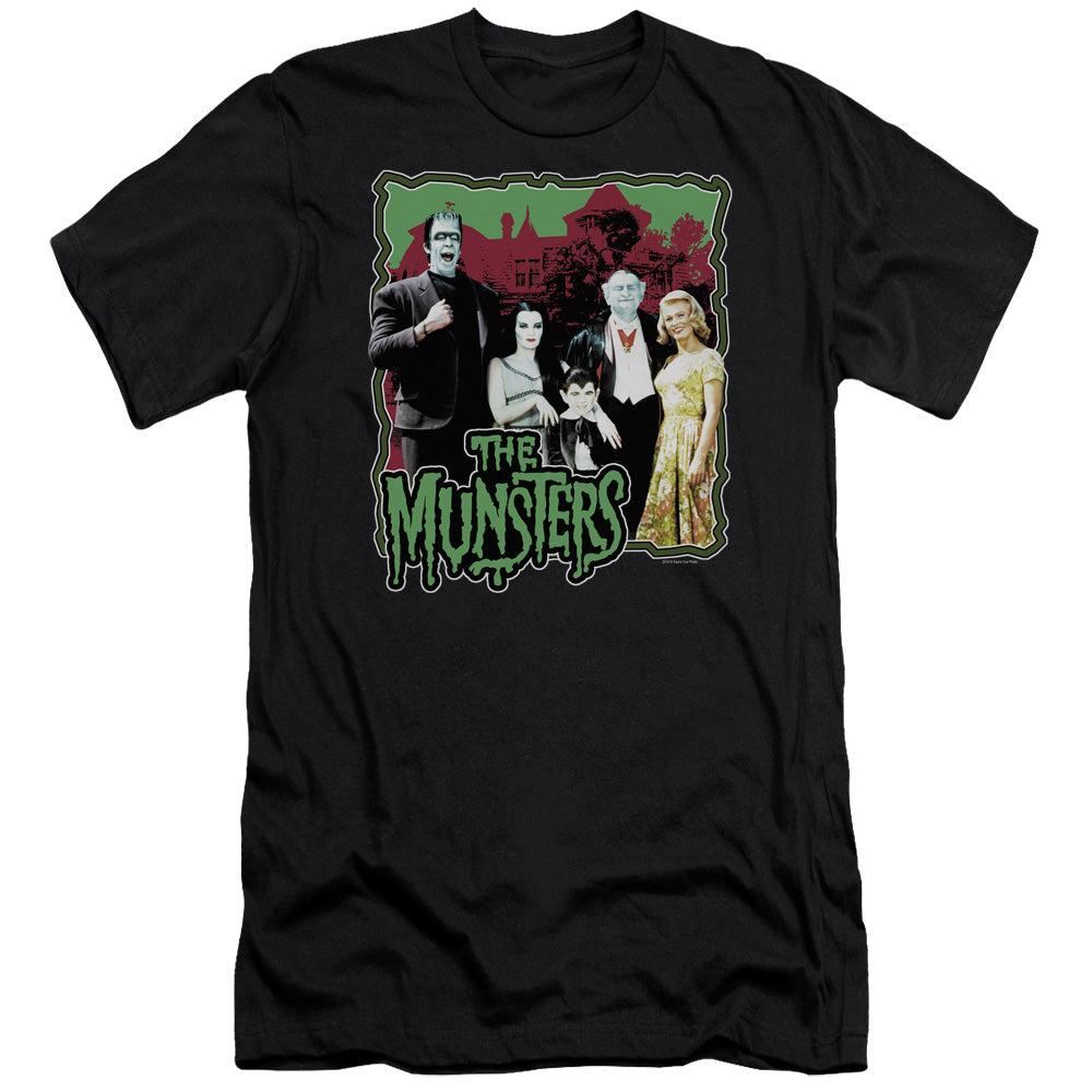 The Munsters - Normal Family Premium Canvas Adult Slim Fit 30/1