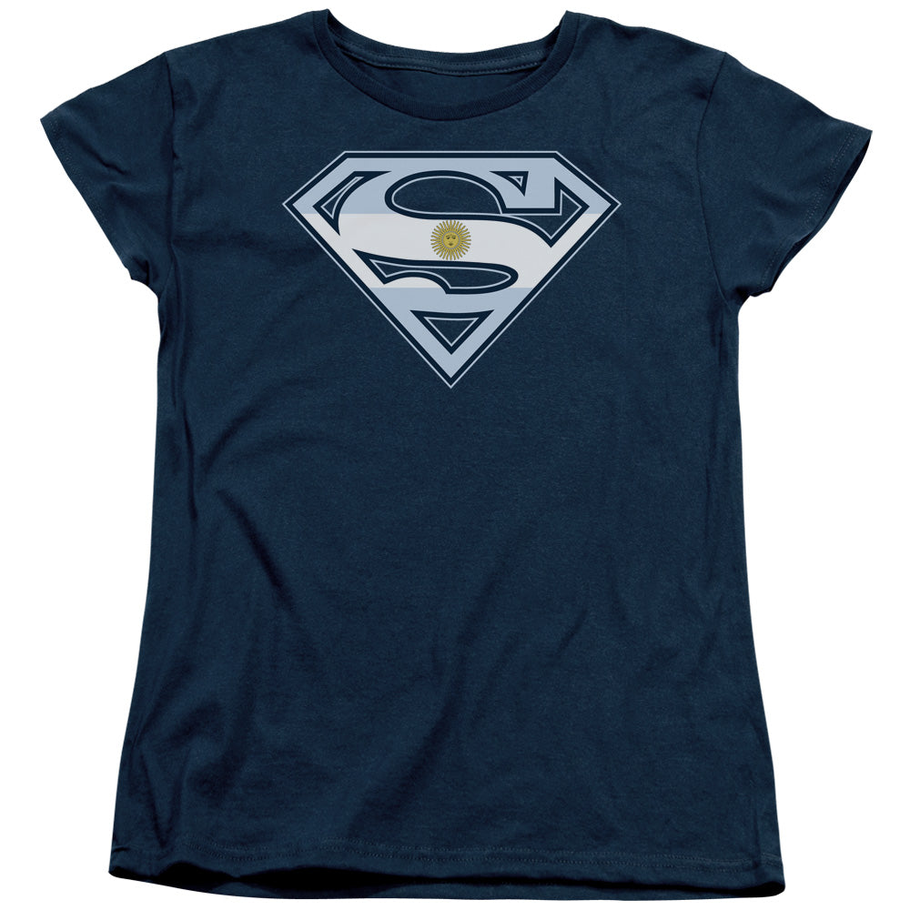 Superman - Argentinian Shield Short Sleeve Women's Tee