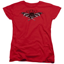 Batman - Wings Of Wrath Short Sleeve Women's Tee