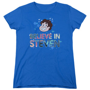 Steven Universe - Believe Short Sleeve Women's Tee