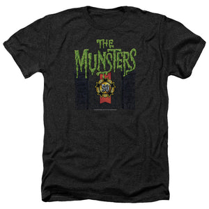 The Munsters - 50 Year Logo Adult Heather
