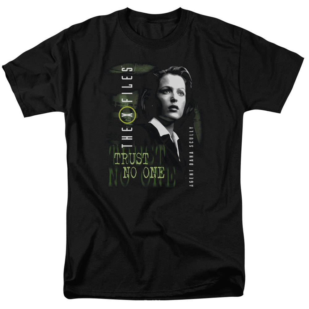 X Files - Scully Short Sleeve Adult 18/1