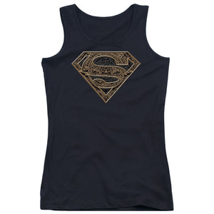 Superman - Aztec Shield Juniors Tank Top