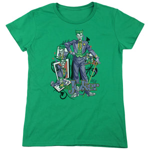 Batman - Wild Cards Short Sleeve Women's Tee