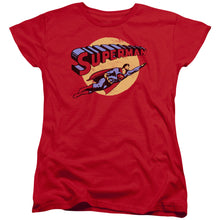 Superman - Fly By Short Sleeve Women's Tee