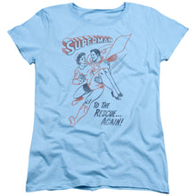 Superman - To The Rescue Short Sleeve Women's Tee
