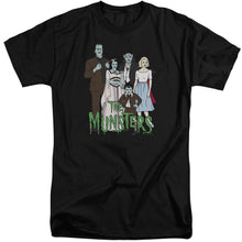 The Munsters - The Family Short Sleeve Adult Tall