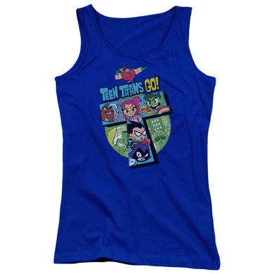 Teen Titans Go - T Juniors Tank Top
