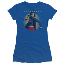 Supergirl - Classic Hero Short Sleeve Junior Sheer