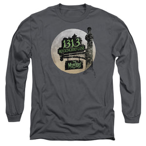 The Munsters - Moonlit Address Long Sleeve Adult 18/1