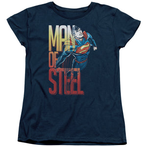 Superman - Steel Flight Short Sleeve Women's Tee