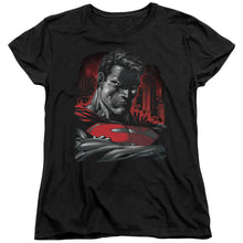 Superman - Man Of Steel Short Sleeve Women's Tee