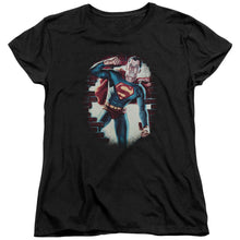 Superman - Vintage Steel Short Sleeve Women's Tee