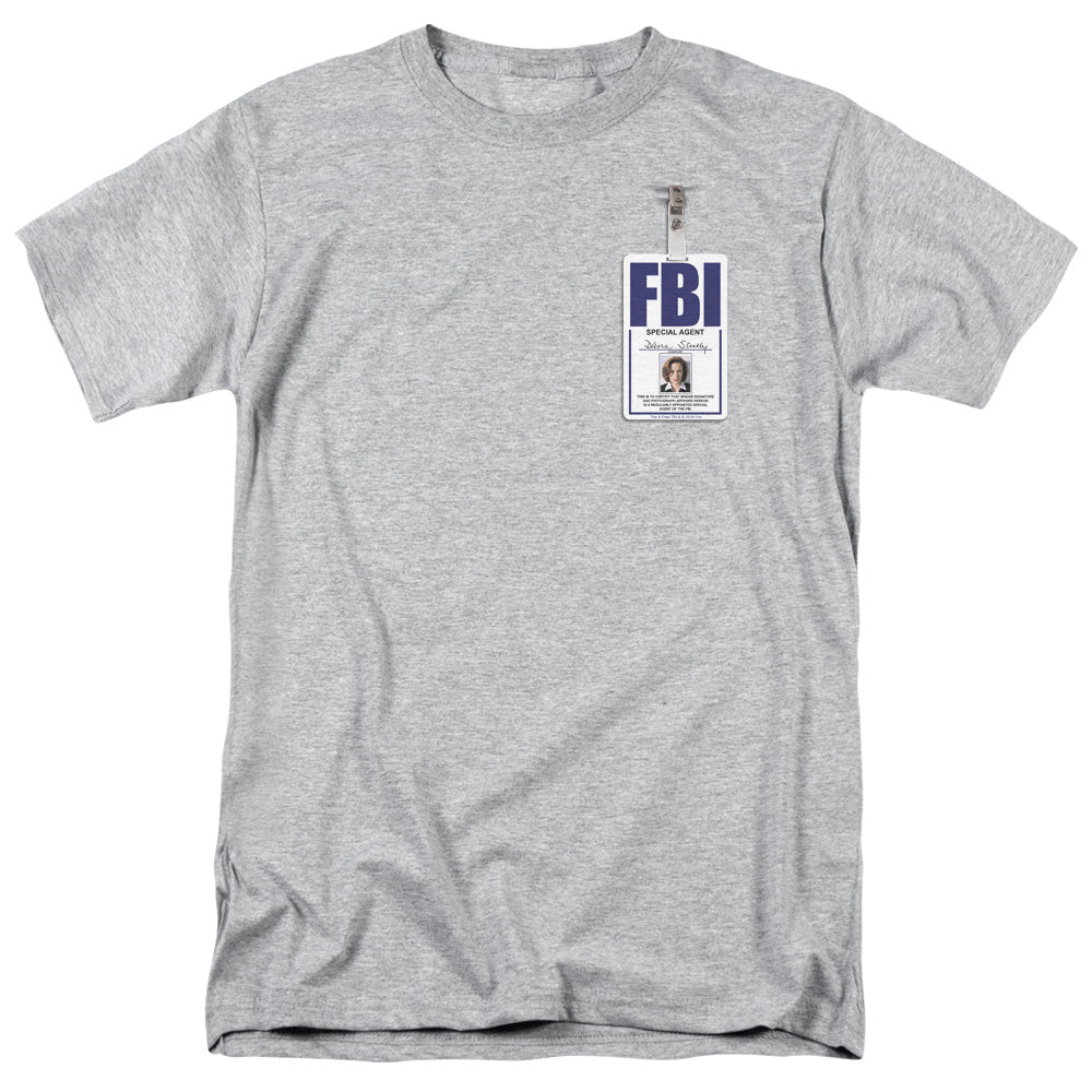 X Files - Scully Badge Short Sleeve Adult 18/1