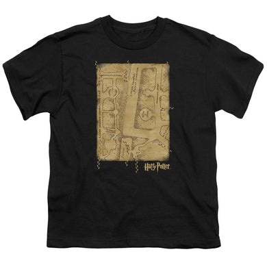 Harry Potter - Marauder's Map Interior Short Sleeve Youth 18/1