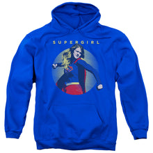 Supergirl - Classic Hero Adult Pull Over Hoodie