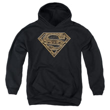 Superman - Aztec Shield Youth Pull Over Hoodie