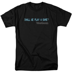 Wargames - Shall We Short Sleeve Adult 18/1
