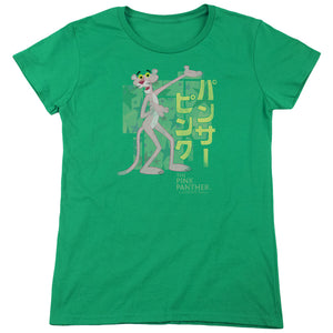 Pink Panther - Asian Letters Short Sleeve Women's Tee