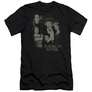 The Munsters - American Gothic Premium Canvas Adult Slim Fit 30/1
