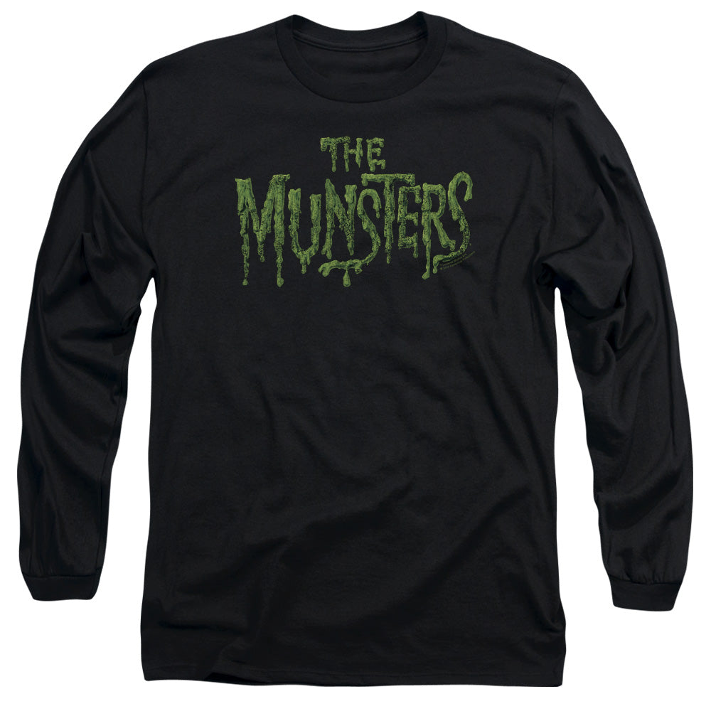 The Munsters - Distress Logo Long Sleeve Adult 18/1