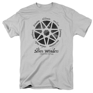 American Horror Story - Seven Wonders Short Sleeve Adult 18/1