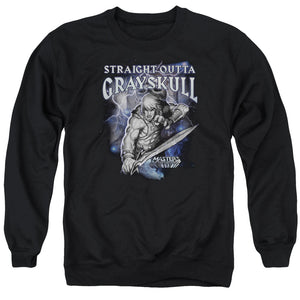Masters Of The Universe - Straight Outta Grayskull Adult Crewneck Sweatshirt