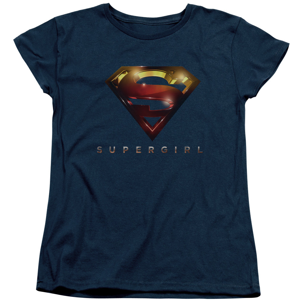 Supergirl - Logo Glare Short Sleeve Women's Tee