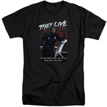 They Live - Dead Wrong Short Sleeve Adult Tall