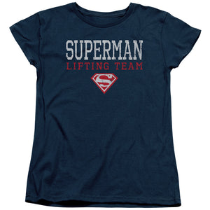 Superman - Lifting Team Short Sleeve Women's Tee