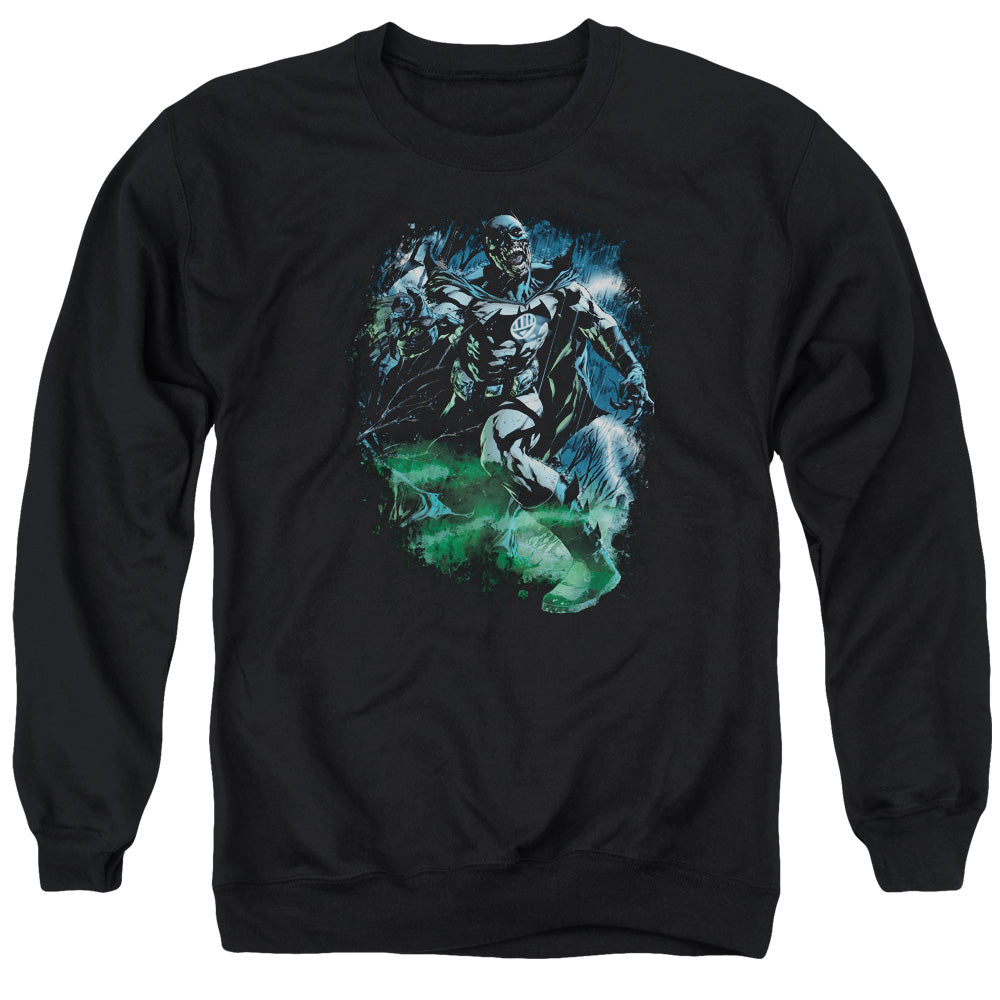 Green Lantern - Black Lantern Batman Adult Crewneck Sweatshirt