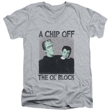 The Munsters - Chip Short Sleeve Adult V Neck