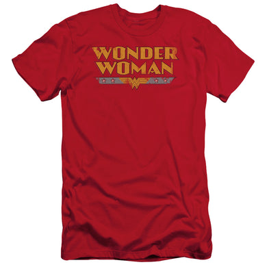 Wonder Woman Logo Short Sleeve Adult 30/1